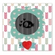 Uchi's Design Animation Dies/Clear Stamp Combo - Bird set