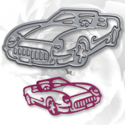 Printable Heaven die - Sports Car (1pc)