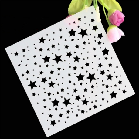 Reusable Stencil - Stars (1pc)