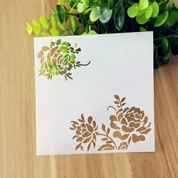 Reusable Stencil - Chrysant Corner (1pc)