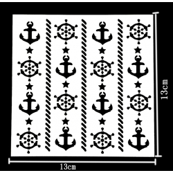 Reusable Stencil - Nautical (1pc)