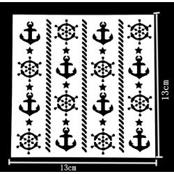 Reusable Stencil - Nautical (1pc)