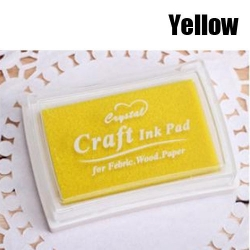 Ink Pad - Yellow