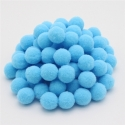 10mm Pom-poms (100 pack) - Pale blue