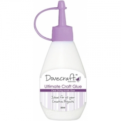 Dovecraft Ultimate Acrylic Craft Glue - Dries Clear (DCBS70)