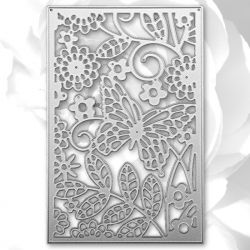 Printable Heaven die - Butterfly Panel (1pc)