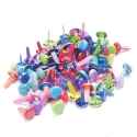 8mm Coloured Brads (100pcs)