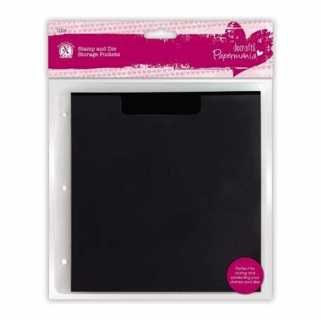 Papermania Stamp & Die Storage Pockets with Magnetic Shim, 10pk