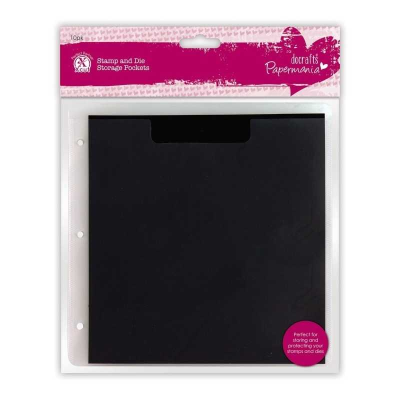 Papermania Stamp Amp Die Storage Pockets With Magnetic Shim