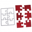Printable Heaven die - Small Jigsaw Puzzle (1pc)