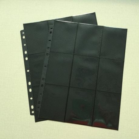 18-pocket Ring-binder page (1pc)