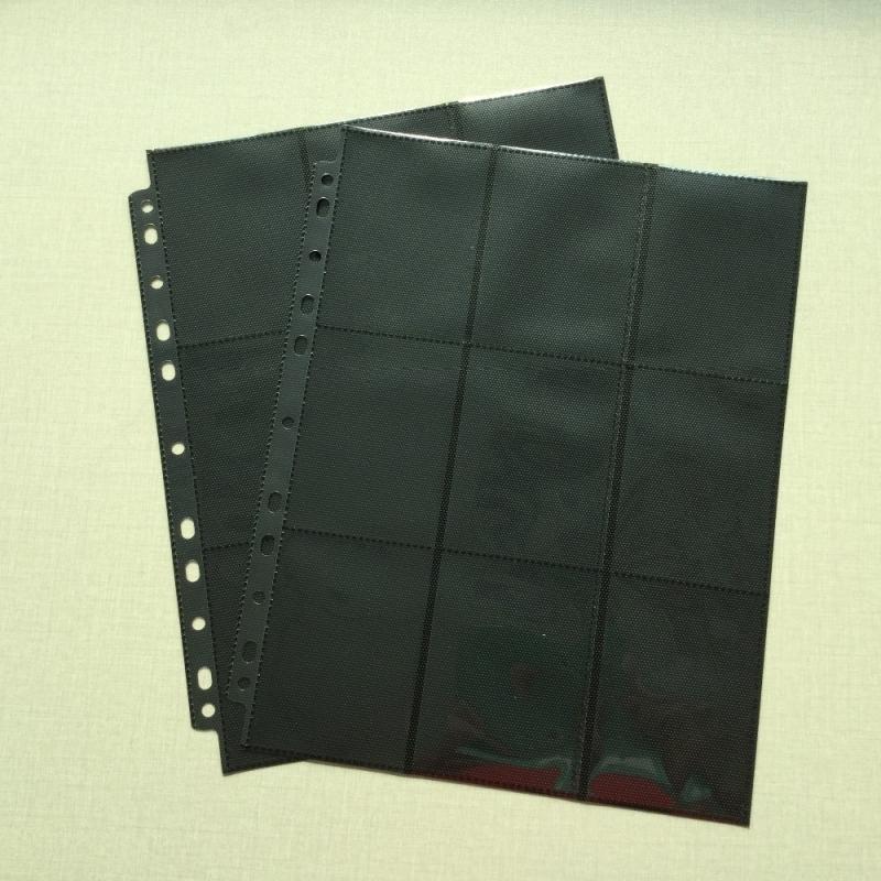 18-pocket Ring-binder Page (1pc