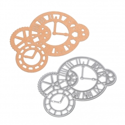 Printable Heaven die - Clocks & Cogs (1pc)
