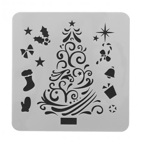 Reusable Stencil - Christmas Tree (1pc)