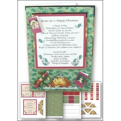 Download - Card Kit - Recipe for a Happy Christmas