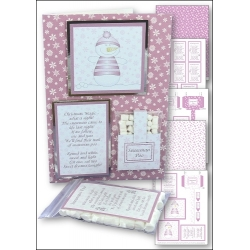 Download - Card Kit - Snowman Poo (Dusky pink)