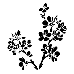 Reusable Stencil - Blossom (1pc)