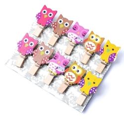Owl Pegs (10pcs)