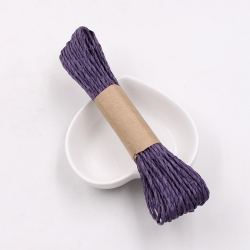 Paper Twine - Purple (Large 20m)