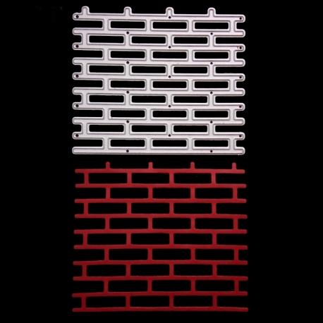 Printable Heaven die - Brick wall (1pc)
