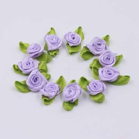 Ribbon Roses - Lilac