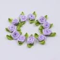 Ribbon Roses - Lilac (48pcs)