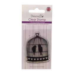 Dovecraft Clear Stamp - Birdcage (DCCS015)