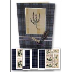 Download - Card Kit - Scottish Florals
