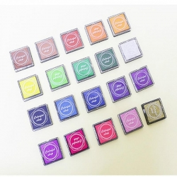 Mini Ink Pads 20 Lovely Colours