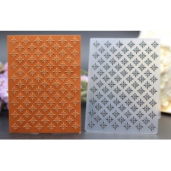 A7 Mini Embossing folder - Ditsy Floral