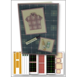 Download - Card Kit - Origami Shirt, Whisky and Lager