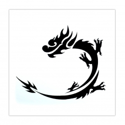 Reusable Stencil - Dragon (1pc)