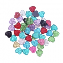Glitter Hearts Assorted (50pcs)