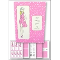 Download - Card Kit - Fashion Lady Pink