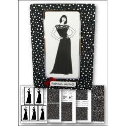 Download - Card Kit - Fashion Lady Black