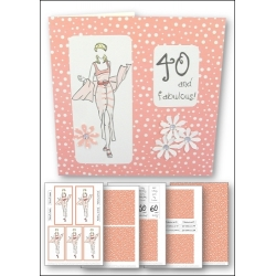 Download - Card Kit - Fashion Lady Peach