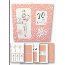 Download - Card Kit - Fashion Lady Peach