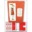 Download - Card Kit - Fashion Lady Red