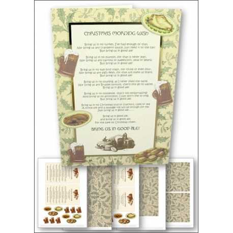 Download - Card Kit - Bring us in Good Ale Christmas card