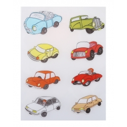 Clear stamp set - Cartoon Cars (8pcs)