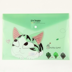 Cat Storage Folder - Green