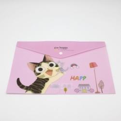Cat Storage Folder - Pink