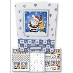 Download - Card Kit - Santa & Reindeer Escapades