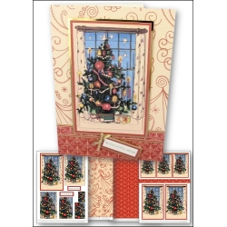 Download - Card Kit - Christmas Tree Pyramage