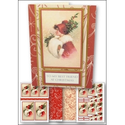 Download - Card Kit - Best Friend at Christmas