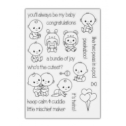 Clear Stamp set - Cute Babies
