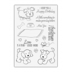 Clear Stamp set - Doggy Birthday