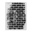 Clear Stamp - Rustic Brick Wall (1pc)