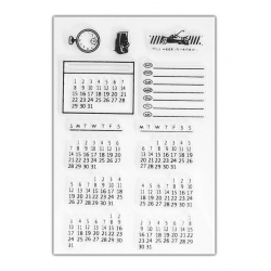Clear Stamp set - Calendar