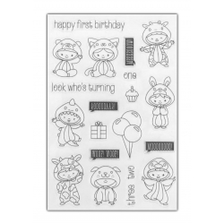 Clear stamp set - Baby Antics